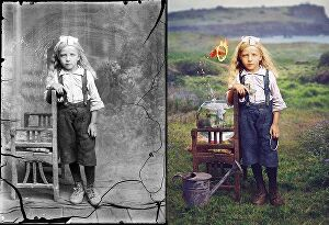 I will colorize, restore & retouch old photos