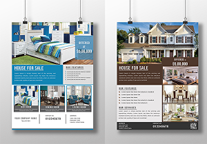 I will design real estate or any business flyer
