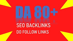 I will make high quality do follow backlinks for SEO services