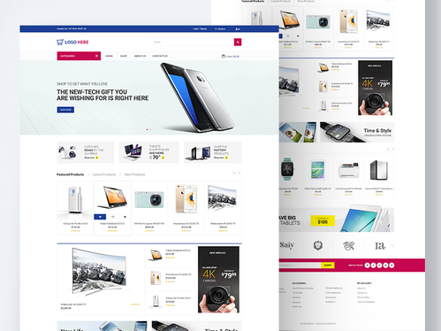 develop a complete professional and responsive ecommerce wordpress website