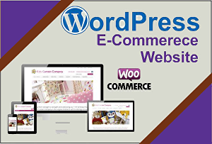 I will create and develop a WordPress eCommerce website