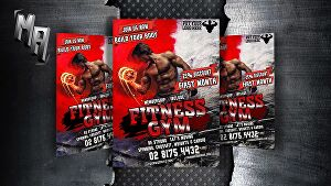 I will design fantastic sport flyer and fitness flyers,