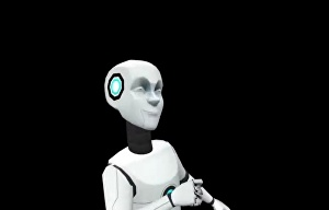 I will Say your birthday wishes through the dancing 3d robot