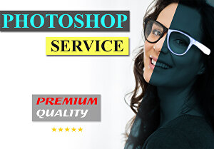 I will do photoshop editing and high end photo retouching