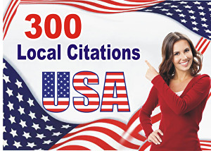I will create 300 USA local citations and directory submission manually