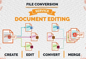 I will convert, recreate and format PDF or image to InDesign, word file