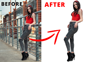 I will remove background from any images professionally in 24 hr