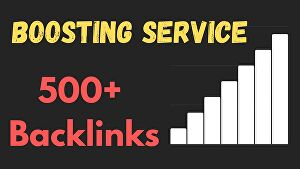 I will create High Quality Bookmarking SEO backlinks for Boosting website