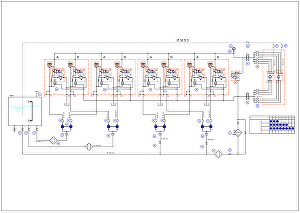 I will redraw your schematic to 2d cad format using autocad