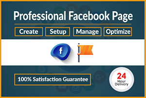 I will create your professional Facebook business page