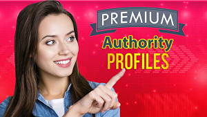 I will build 50  high authority profile backlinks SEO