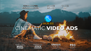 I will create Cinematic Inspiring & Motivating VIDEO AD for your Brand