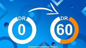 I will Increase Your Website's Domain Rating Ahrefs DR to 20+ Guaranteed