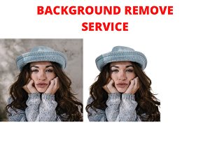 I will  professionally remove the background of your image