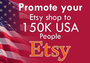 I will promote etsy store to get sales