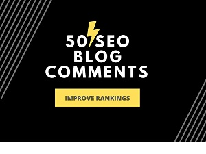 I will build 50 High-Quality Dofollow Comment Backlinks