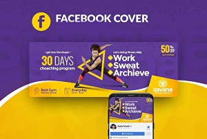 I will design an attractive and professional Facebook cover
