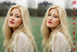 I will perform all in one professional Photoshop photo editing, retouching and photo manipulation