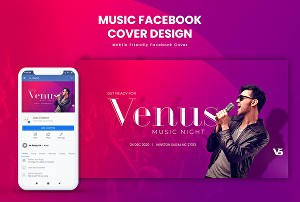 I will Design a professional looking Facebook cover image