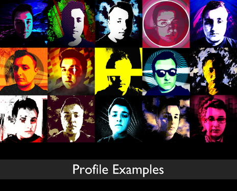 create you a stylish social media profile picture and banner