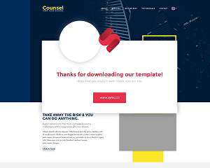 I will create a responsive landing page any website