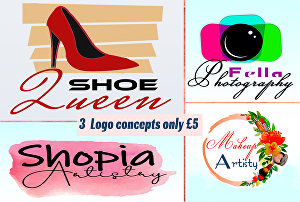 I will design feminine, beauty and glamorous logo design
