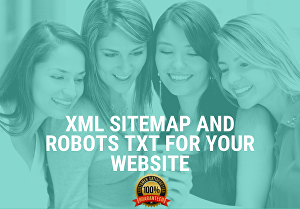 I will optimize XML sitemap and robots txt for your website
