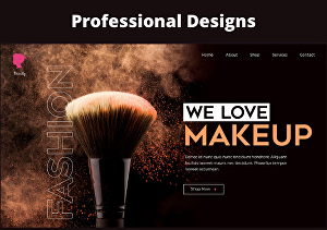 I will create a professional and responsive website