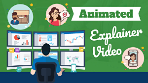 I will create animated explainer videos
