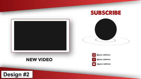 do youtube end card and  end screen animation