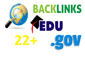 I will create 22 US Based EDU. GOV Authority Backlinks with login details