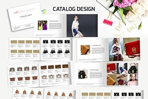 I will design 4 page product line sheet, wholesale catalogue