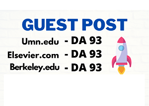 I will provide 3 EDU Guest Posts Published on DA 93+ With Backlinks