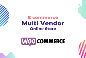 I will build ecommerce, onlineshop, multivendor site by woocommerce