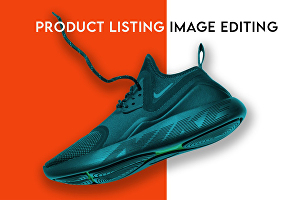 I will do professional photoshop editing, resizing, and product listing design
