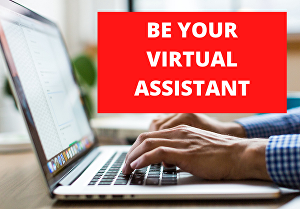 I will work as your virtual assistant for 2 hours