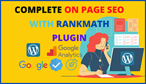 I will do on-page SEO for your WordPress website with rankmath plugin