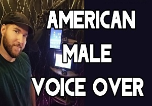 I will record 150 words Professional American male voice over