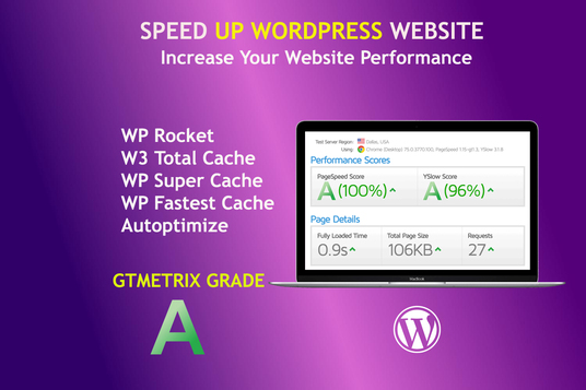 Speed Up AND Optimize WordPress Website