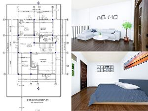 I will Convert your sketch image or PDF into Autocad 2d Drawing