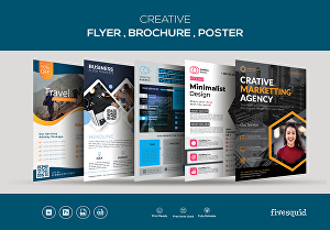 I will do Creative flyer, Brochure, Poster  design