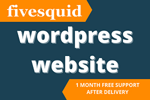 I will create a wordpress website, blog site, landing page within 24 hours