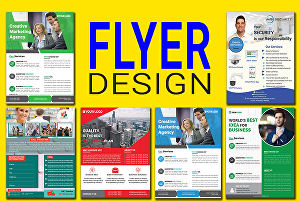 I will design  professional business and event flyer
