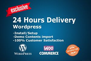 I will install wordpress theme demo import and setup demo content