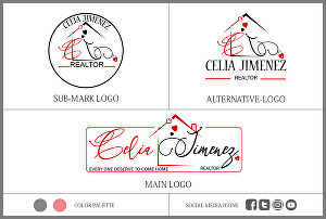 I will design real estate logo or realtor business signature
