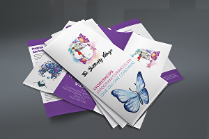 I will design trifold, bifold brochure for your business
