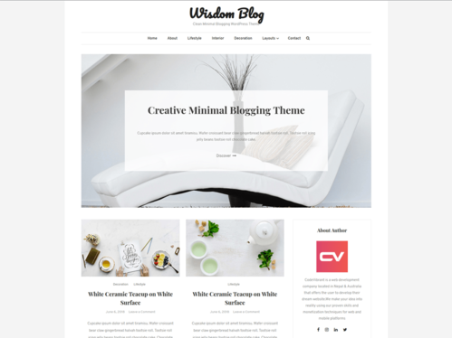 design a professional and modern website