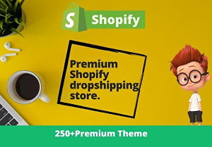 I will create a Shopify dropshipping store