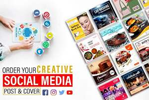 I will design Perfect Social Media Posts, Images, or Stories