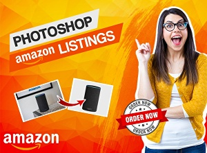 I will do Photoshop Editing for Amazon Product Listing Images